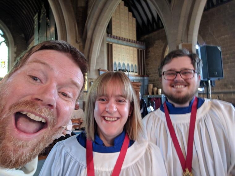 choir selfie